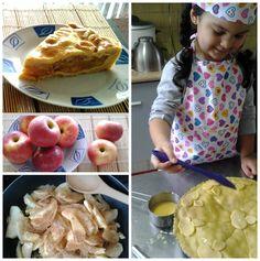Evelyn ... entre tortas ,cupcakes y más dulces : Receta de pie de manzana .