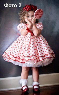 Бесплатная выкройка платья для девочки «бебидолл». Размеры 28-36 2