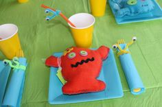 Monster party favors - a lot of work but cute @Keli Elliott what do you think?