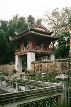 temple of literature, hanoi, vietnam #confucianism