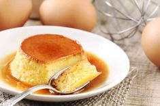 My mother's homemade flan recipe is simply the best. It's easy to make a… My mother's homemade flan recipe is simply the best. It's easy to make and will impress your friends and family. Homemade Flan Recipe, Best Flan Recipe, Homemade Desserts, Köstliche Desserts, Dessert Recipes, Dessert Parfait, Classic Desserts, Dessert For Dinner, Calories