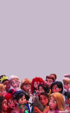 Vanellope and the Disney Princesses Meeko Roars Lock Screen Phone Wallpaper {Ralph Breaks the Internet Wreck it Ralph Disney Phone Wallpaper, Wallpaper Iphone Cute, Cartoon Wallpaper, Cute Wallpapers, Wallpaper Backgrounds, Phone Wallpapers, Disney Rapunzel, Disney Art, Disney Princesses