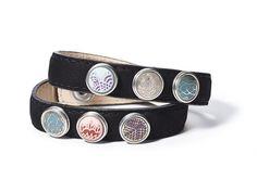 NOOSA armband dubbel Petite black : Jewelz en More