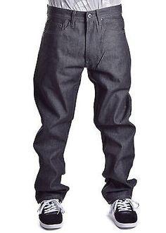 Sean John homme Hamilton Classic Relaxed Fit Short en jean noir Reg 49 $