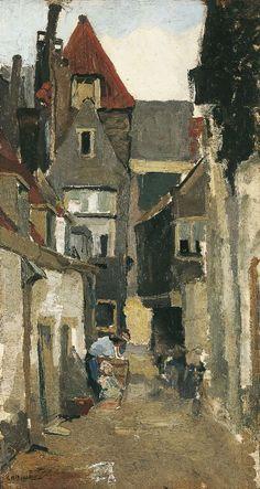 Urban Painting, Painting & Drawing, Renoir, Rotterdam, Monet, Landscape Art, Landscape Paintings, Art Prints Uk, Van Gogh