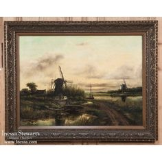 Art | Antique Paintings | Antique Framed Oil Painting on Canvas | www.inessa.com