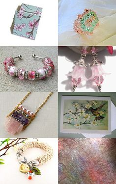 STATTEAM Cherry Blossom Special by breakitupdesigns on Etsy--Pinned with TreasuryPin.com