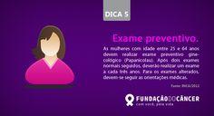 Dica 5 da campanha 10 dicas contra o Câncer desenvolvida para a Fundação do Câncer - Lançada no dia 27 de novembro , Dia Nacional de Combate ao Câncer
