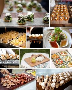 FINGER FOOD,DRINKS, & DESSERT WEDDING RECEPTION BARS | Keeping Up with the Catering Trends | Holy City Catering