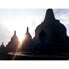 Morning @ Bodubudur, Java Island, Indonesia