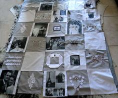 Photo quilt with instructions, now if I just had someone who would do all the work for me...
