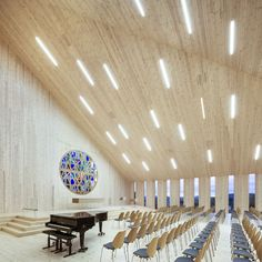 Knarvik Church, a Futuristic Interpretation of the Traditional Norwegian Stave Church | http://www.yatzer.com/knarvik-church-reiulf-ramstad-arkitekter