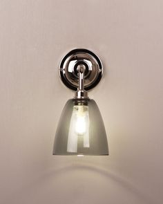 Designer Wall Light, Contemporary lighting bathroom lighting pixley glass wall light (IP44 Rated)