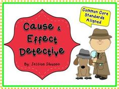 #CauseandEffect - this Common Core aligned unit is packed with fun and useful ideas that will help them identify cause and effect relationships. Activities were carefully chosen to keep your students excited and engaged. 24 picture cards and recording sheets were NEWLY included to help your students have better understanding about the lesson.