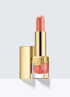Pure Color Crystal, Lipstick - Color so incredible, it leaves your lips wanting more. Magnified vibrancy, dimension and brilliance. Sheer to medium, buildable coverage. Estee Lauder Uk, Estee Lauder Pure Color, Best Lipstick Color, Lipstick Colors, Lipstick Dupes, Pink Lipsticks, Crystal Lips, How To Apply Lipstick, Soft Lips