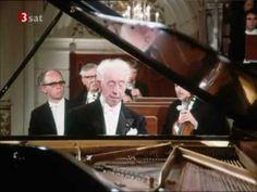Brahms: Piano concerto no. 1 Pianist: Arthur Rubinstein Director: Bernard Haitink Orchestra: Royal Concertgebouw Orchestra (Amsterdam) Location: Amsterdam 1973