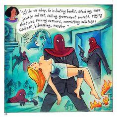 SUPER-ENIGMATIX ~ Page 14 Richard Sala Shops, Comic Art, Indie, Comics, 3, Tents, Retail, Cartoons, Comic
