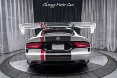 Chicago Motor Cars - Are You Interested? 2016 Dodge Viper, Viper Acr, Motor Car, Super Cars, The Unit, Plymouth, Chicago, United States, Car