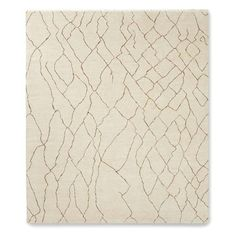 Mountain Fog Hand Knotted Rug, Ivory