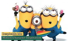 #Despicable Me: #Minion Character Inspiration http://www.webdesign.org/despicable-me-minion-character-inspiration.22315.html #DespicableMe