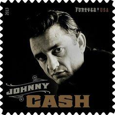 Johnny Cash stamp! !!
