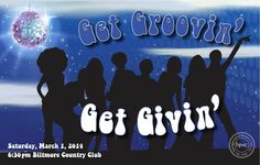 Get Groovin' Get Givin' and get ready to GET DOWN with the Barrington Junior Women's Club at Biltmore this Saturday night!  Here are 5 reasons to join the party... http://wp.me/p1NGbX-KrW