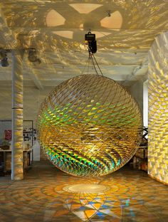 Spherical space • Artwork • Studio Olafur Eliasson