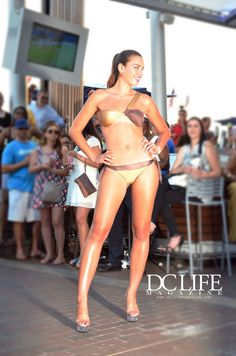 2014 D'Milikah Swimwear Collection. Shown at Nick's Riverside Grill in Georgetown Waterfront www.dclifemagazine.com