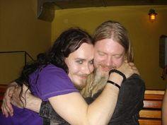 Tuomas Holopainen & Marco Hietala ♡