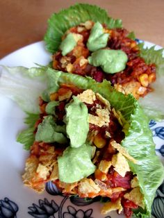 Ruoka-alkemisti: Nachovuoka salaatinlehdiltä (Ve, G)