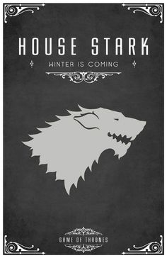 As geeky as this is, I love the Game of Thrones series!