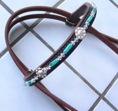 Montana Silversmiths conchos, crystals and turquoise.