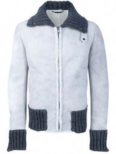 94735f8d1e5 Dove grey lamb skin leather from Dolce and Gabbana  #leatherjacketsformengrey Dove Grey, Lamb,