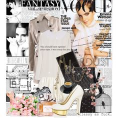"""""""I think when you take away all, like, the premieres and press stuff and all the special effects, then you just come down to the fact that it's all about acting, and I think that has been the best bit for me."""" - Emma Watson., created by bittersweet89 on Polyvore"""