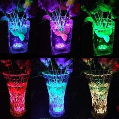 Glow In Dark Party, Glow Party, Lampe Led, Led Lamp, Aquariums, Jacuzzi, Pond Wedding, Hot Tub Garden, Lumiere Led