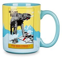 Disney Star Wars Parks Attraction Poster Mug Hoth Disney