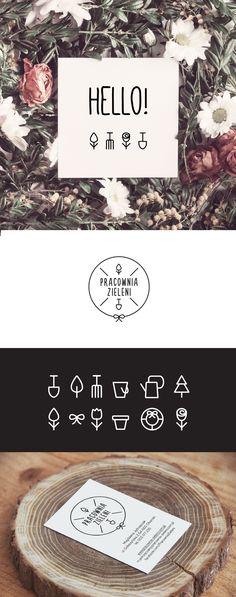 Pracownia Zieleni Logo Design - Identity for Pracownia Zieleni, place where the…