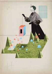 illustrations created byTilman Faelker — Designspiration
