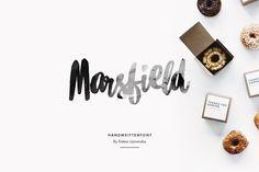 Marsfield | Hand Written Font - Script - 1