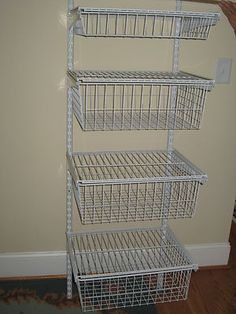 4 Closet Maid Shelf Drawer Organizers, I Like That There Can Be A Shelf On