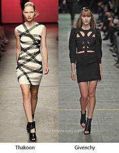 Short bandage dress - i've loved this look (in tops, at least) for ~10 yrs!
