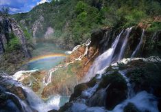 Plitvice Lakes and Falls | The park was inscribed on the UNESCO's World Heritage List in 1979, in ...
