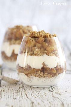 Cinnamon Apple Quinoa Parfait  http://damnrecipes.com/cinnamon-apple-quinoa-parfait/