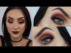 Fall Look FT. New Urban Decay Naked Ultimate Basics | Brittany Witt - YouTube