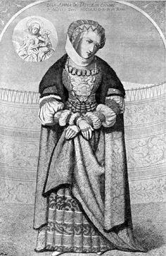 """Polish lady"" - Anna Szydłowiecka from Tęczyn - 16th century."