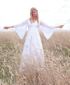 I think I need a board for hippie wedding dresses.