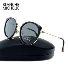 2017 cat eye óculos polarizados óculos de sol das mulheres designer de  marca de alta qualidade 7ff28792b7