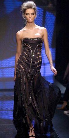 Daria Werbowy | VERSACE FW 2004