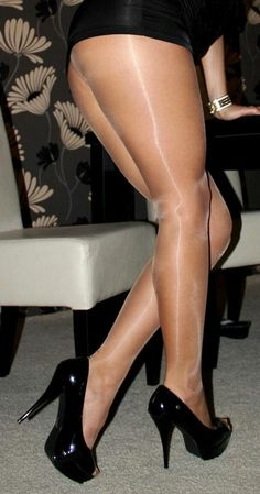 """Love All Things Nylon and Sheer ("""",)"""