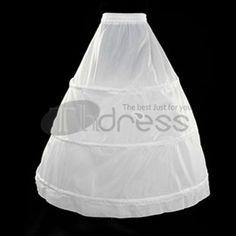 The bride three times the single-layer petticoat quality petticoat b80b957e5b0f